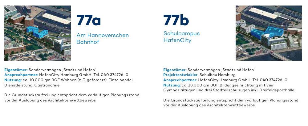 Baufeld 77a und 77b