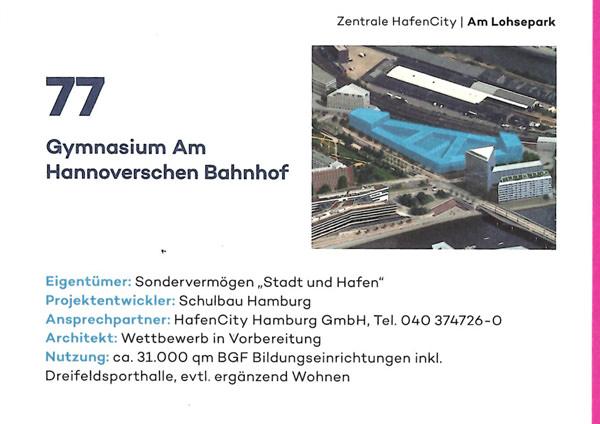 Broschüre Gebäude in der Hafencity